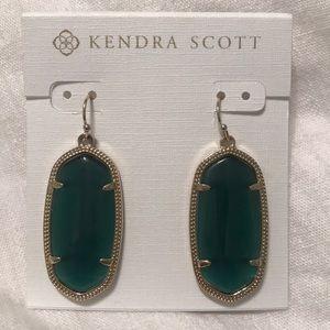 Blue Kendra Scott earings